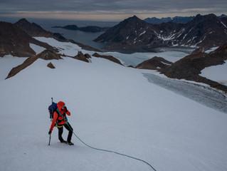 Nunatak summit trip