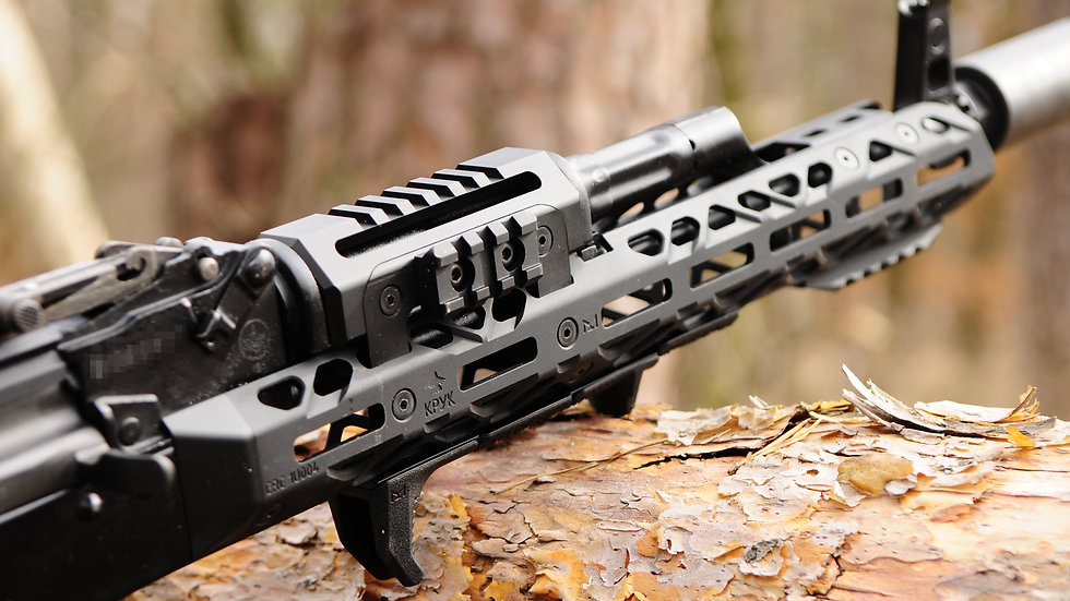 CRC 1U004 Basic Anodizing / long handguard for AK