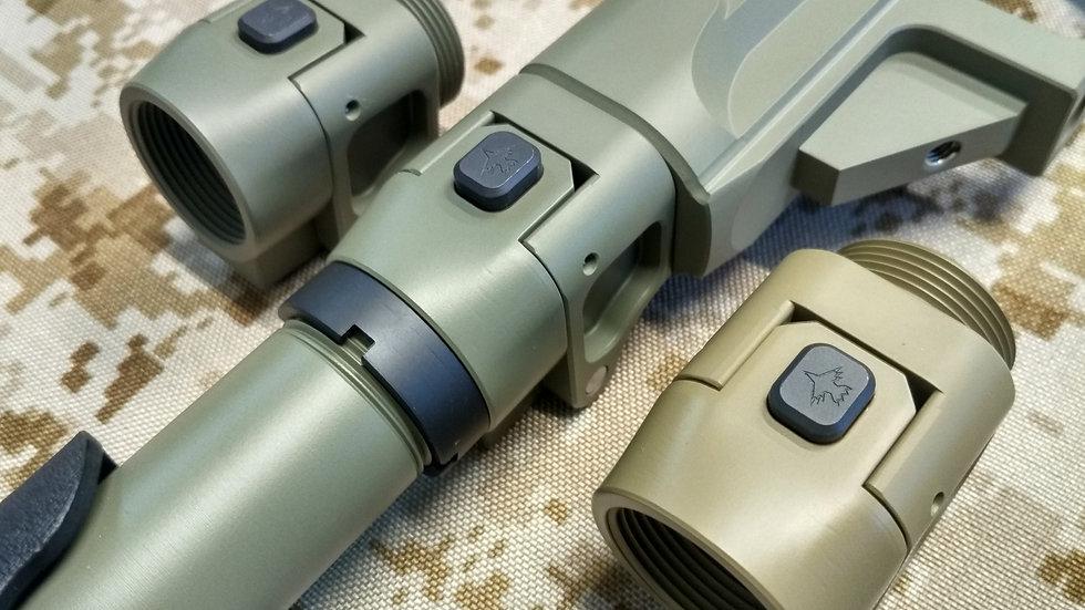 CRC 9U038 Cerakote Coated / складний адаптер прикладу для гвинтівочних лож
