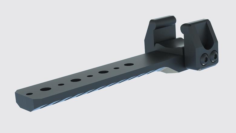 CRC 9U002 Basic Anodizing / кронштейн для сошок на гвинтівки на базі СВД