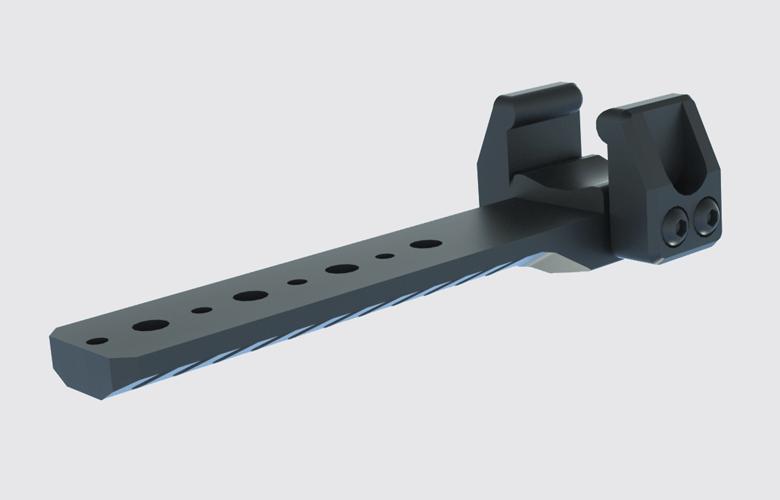 CRC 9U002 Black Anodizing / кронштейн для сошок на гвинтівки на базі СВД