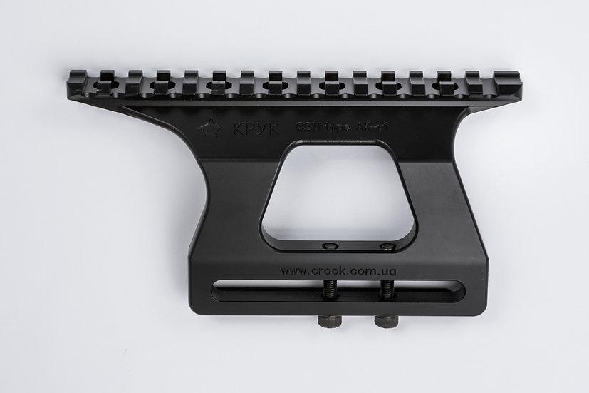 CRC 2U001 Armor Black / бічний кронштейн для CАЙГА/ФОРТ