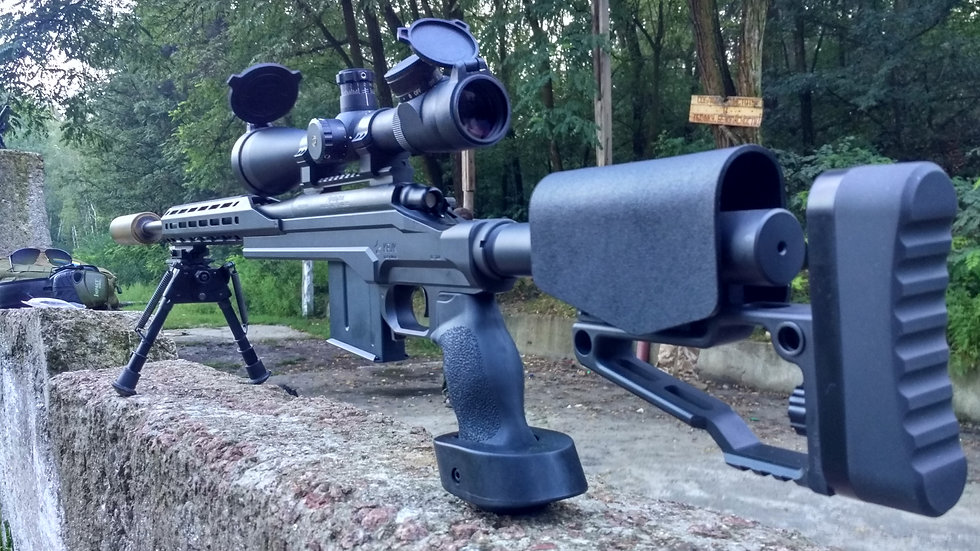 CRC 7R004 Cerakote Coated / chassis for Remington 700 Long Action