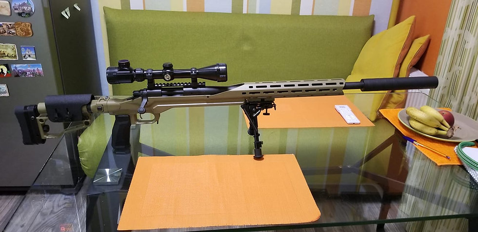 CRC 7R003 Coyote Tan / ложе для Remington 700 Short Action