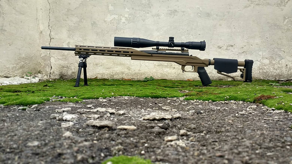 CRC 7H010 Cerakote Coated / chassis for Weatherby Vanguard / Howa 1500 Long Action