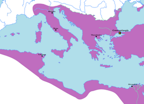 Bizantium Empire di masa pemerintahan Justinian