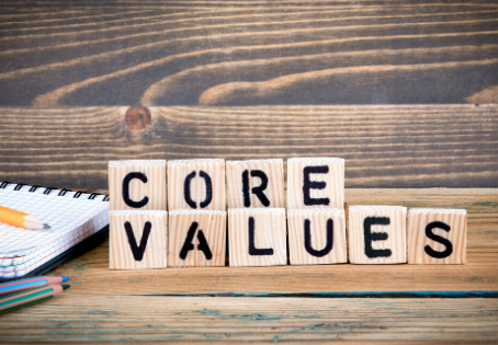 When is the Best Time to Mention Your Core Values?