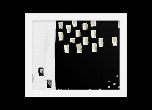 """""""Velvet"""" 00.6 Framed Poster"""