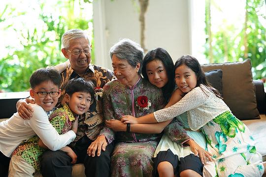 Happy Wedding Family Photo