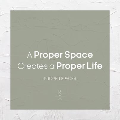 Proper Spaces Message