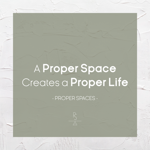 Proper Spaces Message