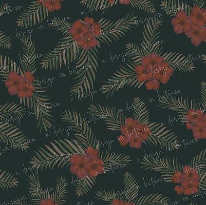 Hibiscus Green Bunch