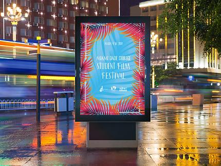 MDC Film Fest Poster 2019 Concept