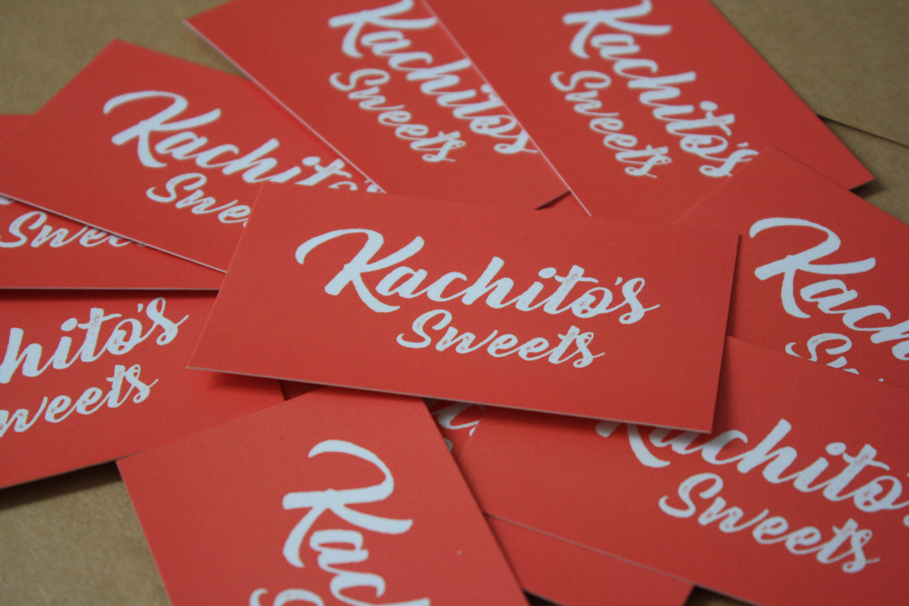 Kachitos Sweets Business Cards