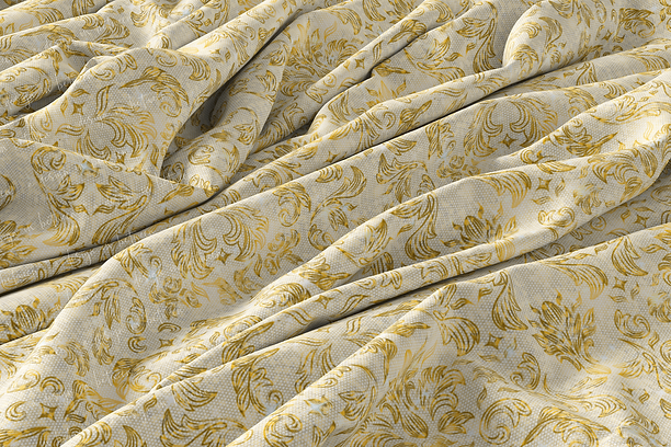 Gold Lace  - Custom Seamless Pattern
