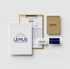 Lemus Construction Company Stationary