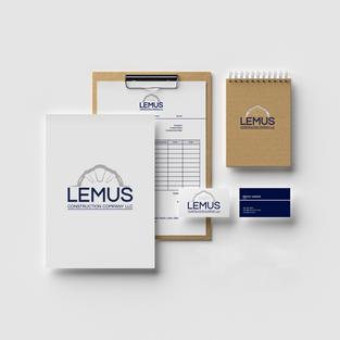 Lemus Construction Company Stationary