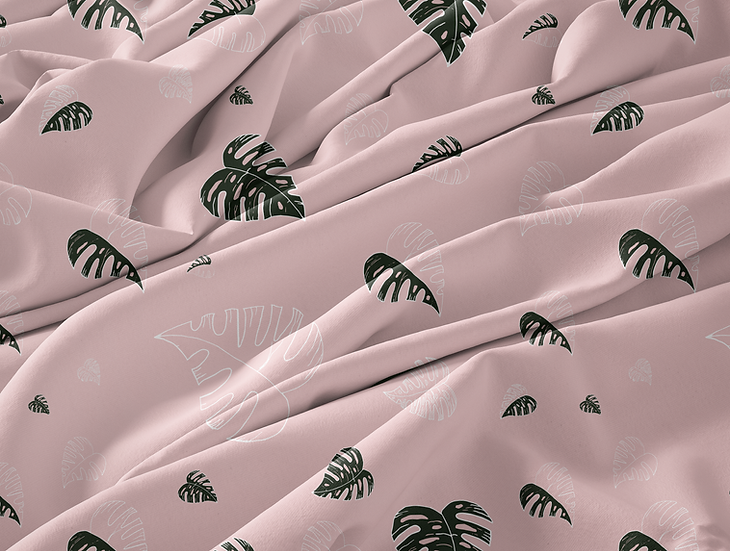 Pink Monstera Collection
