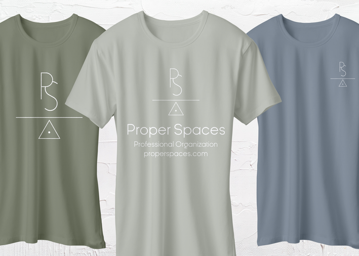 Proper Spaces T-Shirt Mockups