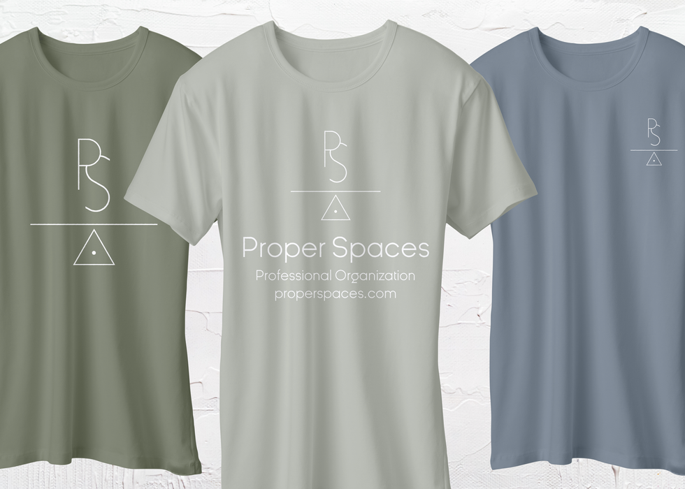 Proper Spaces T-Shirt Mockups