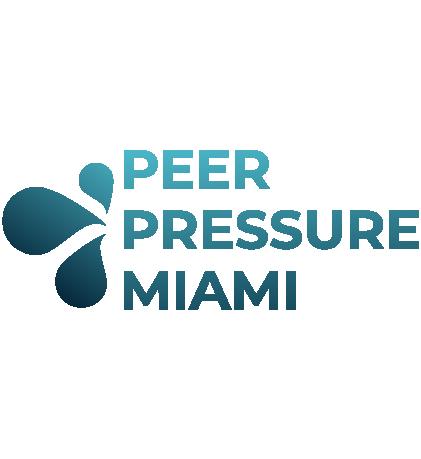 Peer Pressure Miami Logo