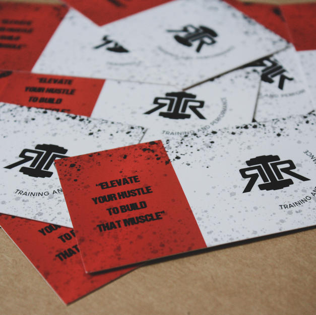 RR Training + Performance Business Cards