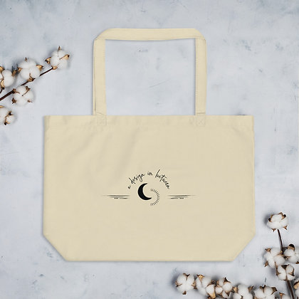 A Design In Between Logo Large Organic Cotton Tote