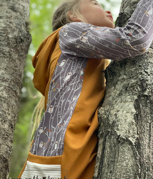 Owls on Birch Trees Exclusive Custom