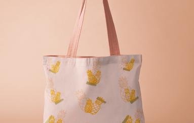 Pineapple Seamless Pattern