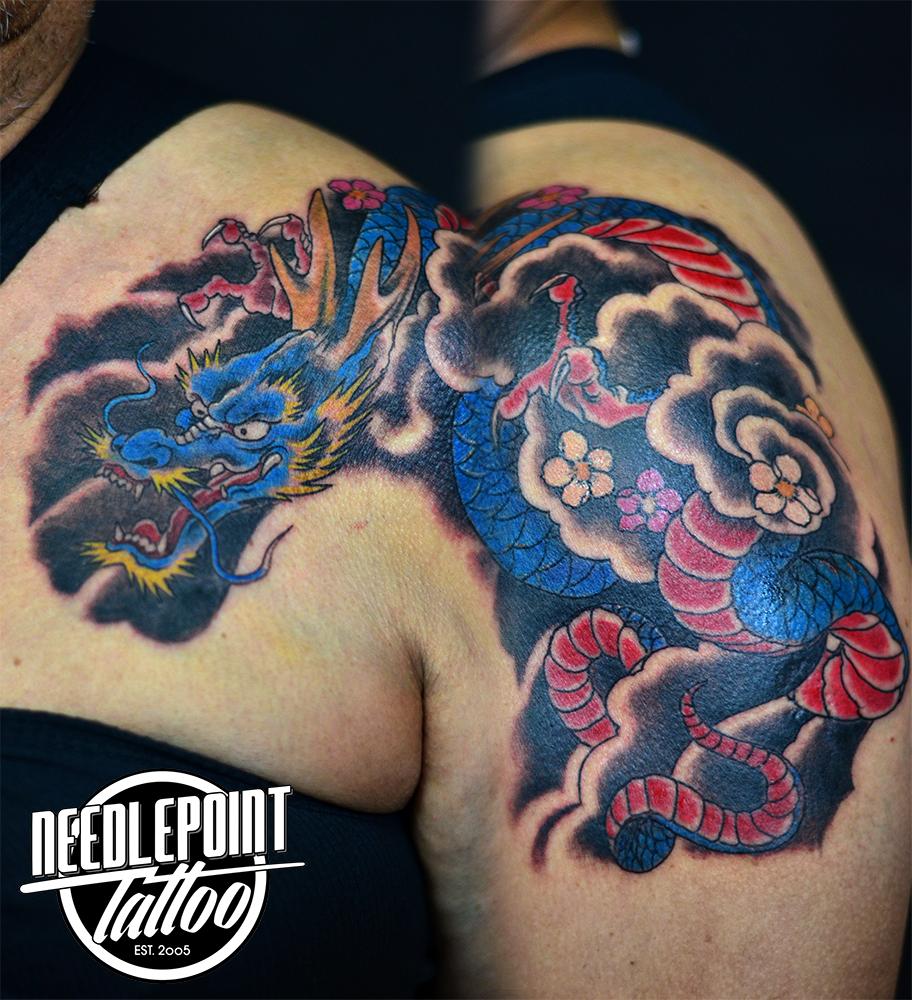 custom traditional oriental dragon