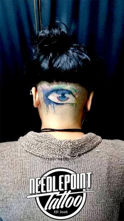 watercolor style eye
