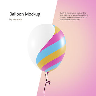 Balloon Mockup