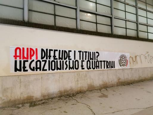 CasaPound vs Anpi, 'difende i titini? Negazionismo e quattrini'