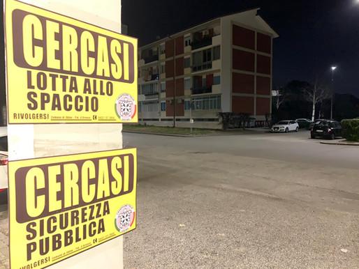Casapound Udine affigge cartelli ironici. Cercasi soluzioni per un comune senza idee