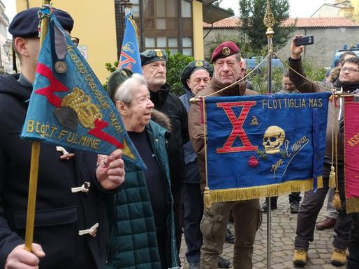 Decima MAS a Gorizia: cerimonia svoltasi con successo e tranquillità