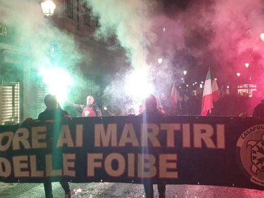 Giorno del Ricordo, CasaPound Italia sfila a Gorizia per onorare i martiri delle foibe
