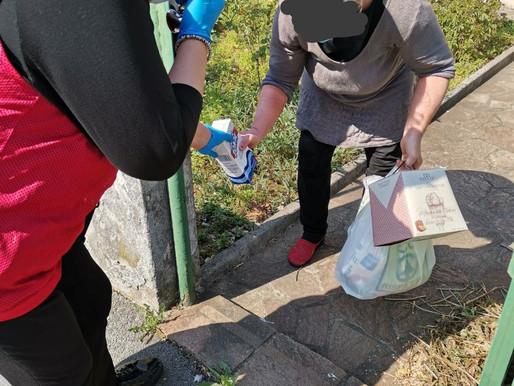 CasaPound Italia continua la distribuzione alimentare