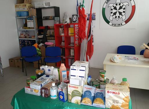 Raccolta alimentare a Udine