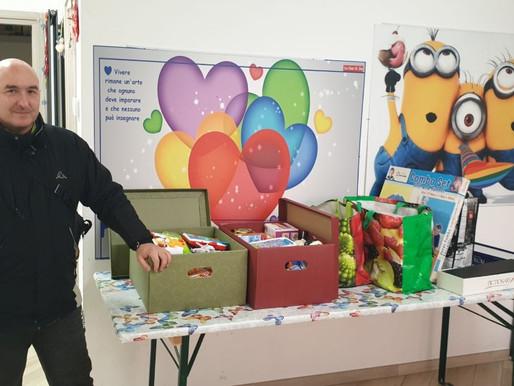 """CasaPound Italia dona giocattoli ai bambini della struttura oncologica udinese """"Casa di Joy"""""""