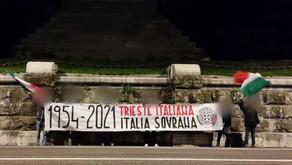 CASAPOUND CELEBRA IL RITORNO DI TRIESTE ALL'ITALIA