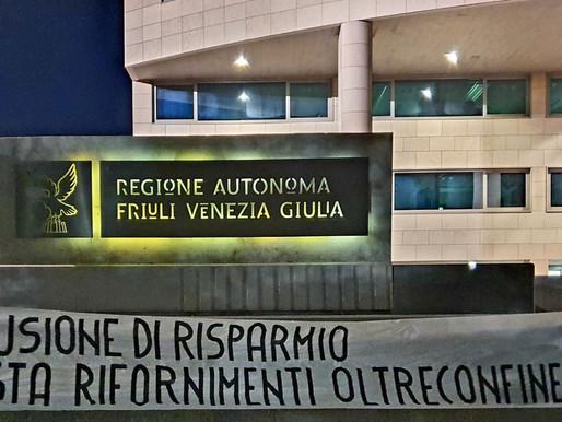 Carburante oltreconfine, intervento di CasaPound Italia.