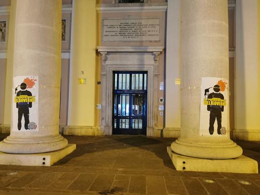 """Benzinai, azione di CasaPound in tutta Italia: """"Il Governo intervenga immediatamente per salvare la"""