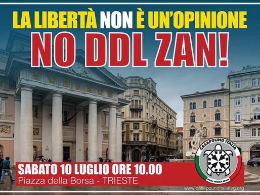 La libertà non è un'opinione NO DDL ZAN!