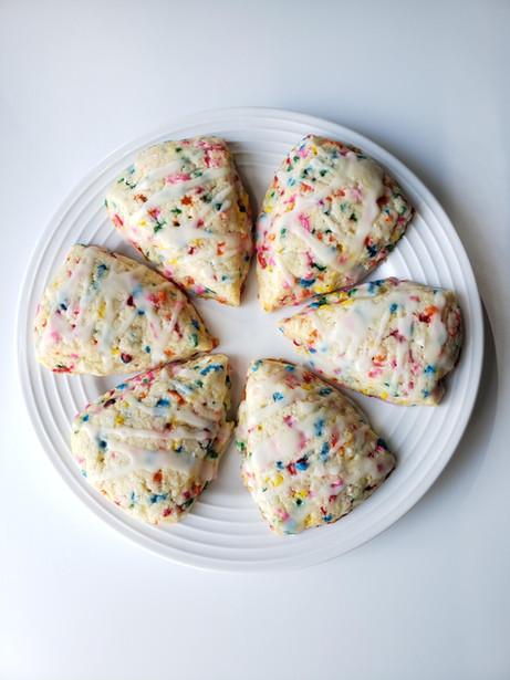 Rainbow Scones by Cake NV