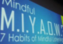 MINDFULGym: Mindful MIYAOW?