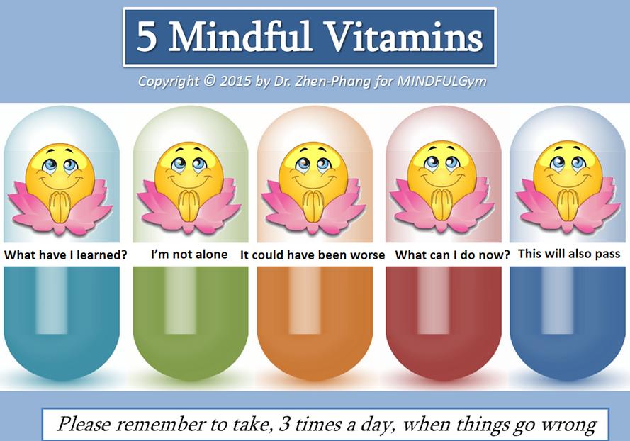 MINDFULGym: 5 Mindful Vitamins