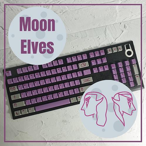 KeyKraft Moon Elves Keycap Set