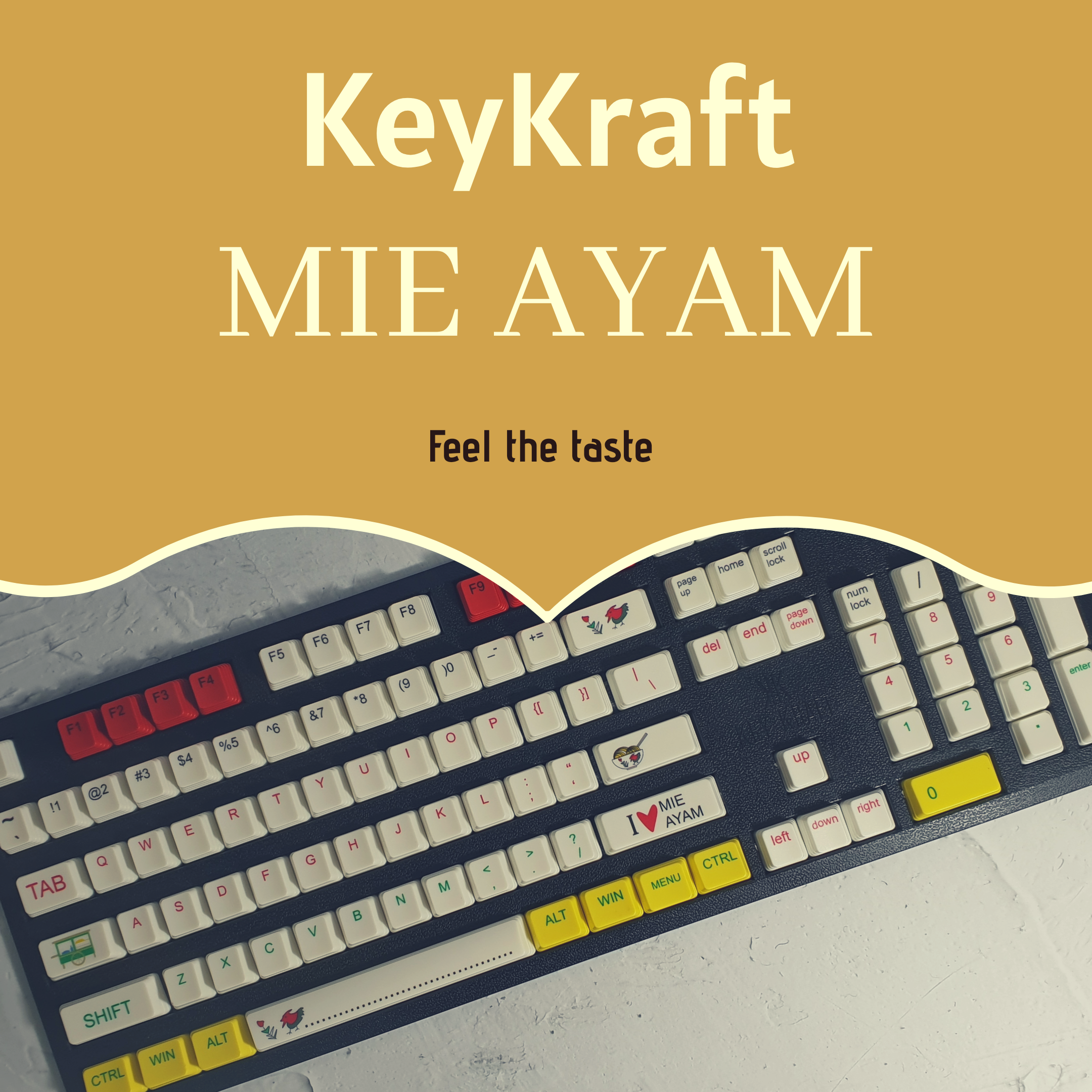KeyKraft MIE AYAM
