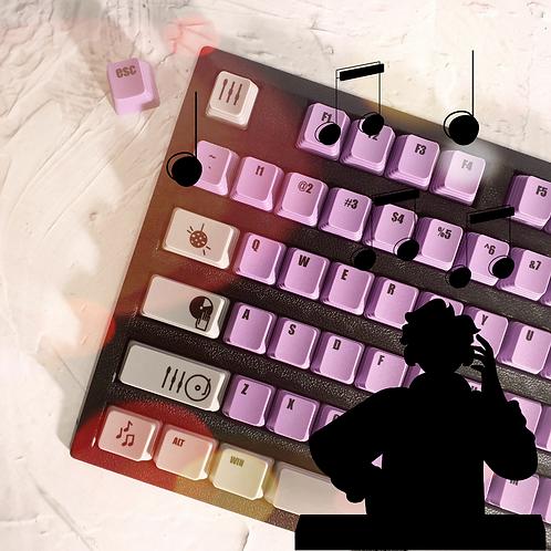 KeyKraft DJ Keycap Set