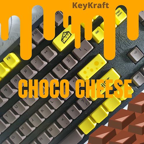 KeyKraft Choco Cheese Keycap Set